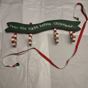 tWas the night before Christmas wall decor piece